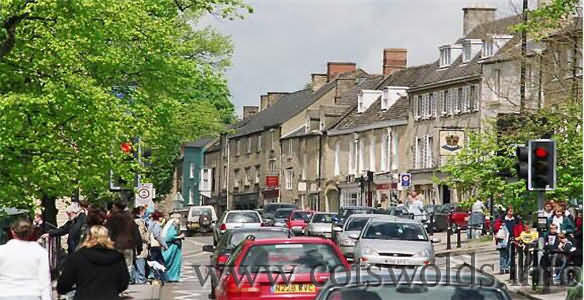 Chipping Norton's busy High Street