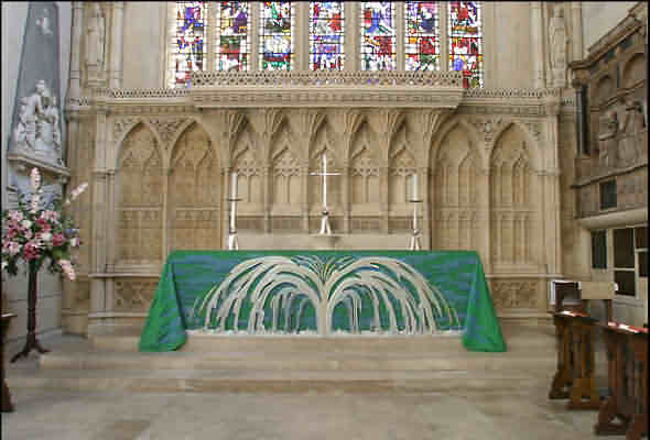 Bath Abbey Altar