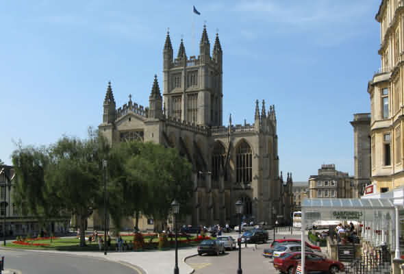Bath Abbey East View
