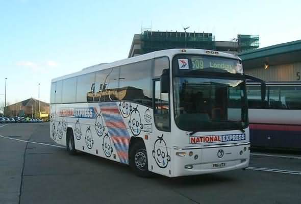 National Express Coaches for travelling the UK and Europe