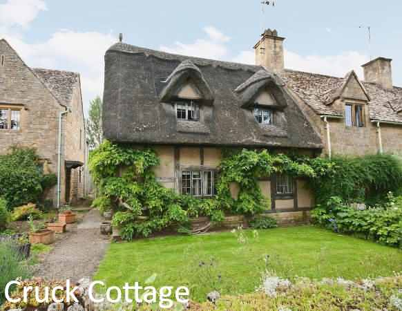 Cruck Cottage at Broadway