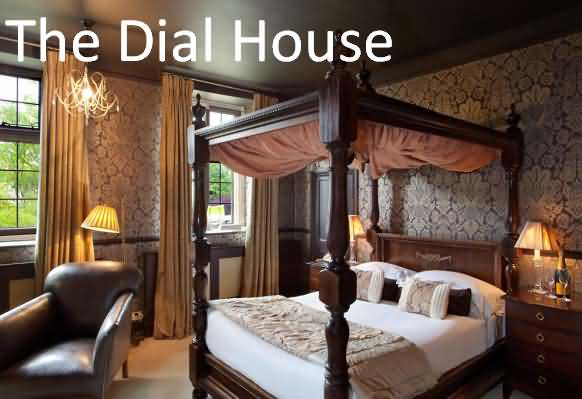 The Dial House four poster bedroom