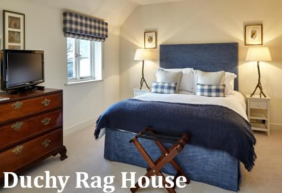 Duchy Rag House bedroom