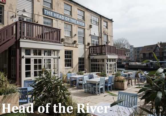 Head of the River Pub at Oxford