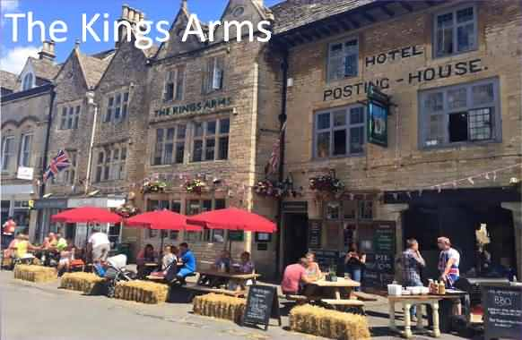 Kings Arms Hotel at Stow-on-the-Wold