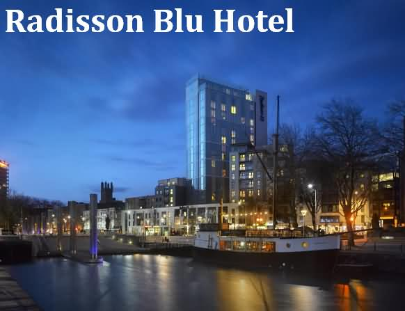 Radisson Blu hotel at Bristol
