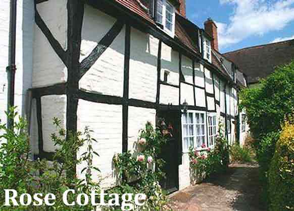 Rose Cottage at Stratford-upon-Avon