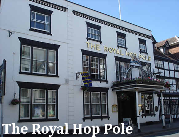 The Royal Hop Pole Hotel at Tewkesbury