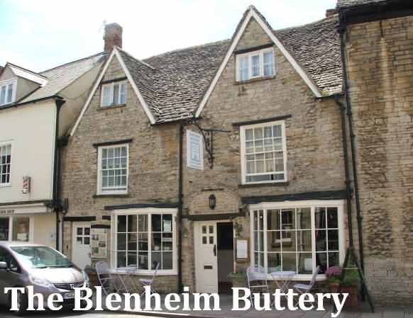 The Blenheim Buttery at Woodstock