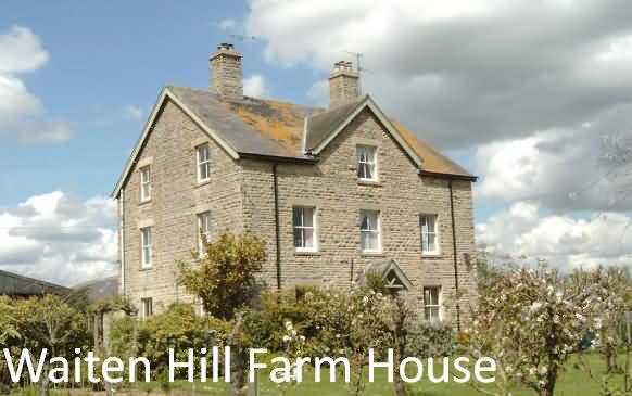 Waiten Hill Farmhouse at Fairford