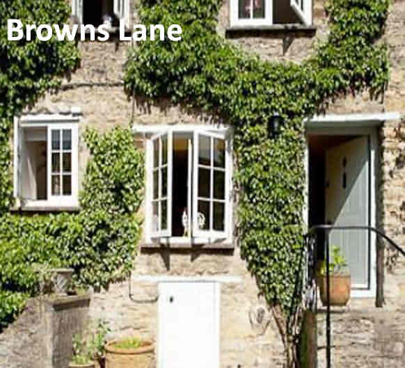 Browns Lane Cottage at Woodstock