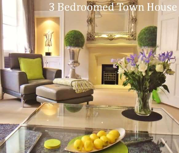Luxury three bedroomed town house