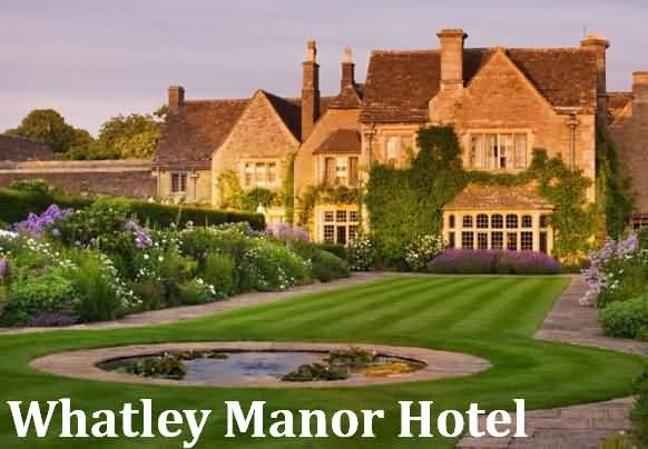 Whatley Manor Hotel near Malmesbury