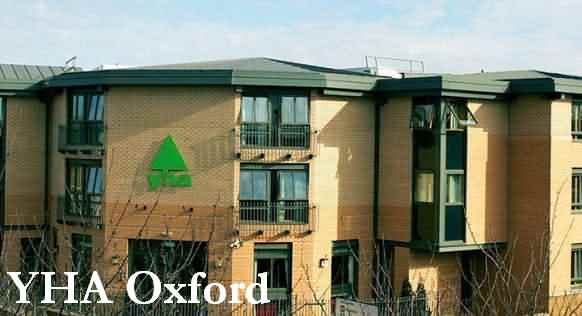 YHA hostel Oxford