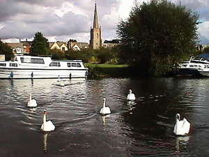 Lechlade on the River Thames