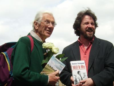 Peter Tichmarsh with Dominic Dromgoole