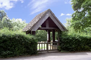 The Lychgate built in memory of Francis Davis Millet