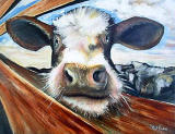Cow by artist Paul Bordiss