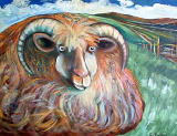 Sheep by artist Paul Bordiss