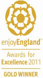 Enjoy England Award for Excellence 2011