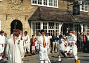 Morris Dancers at Bampton