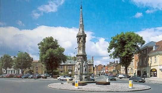 The Banbury Cross at Banbury Town