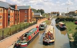 The Wharf on the canal at Banbury