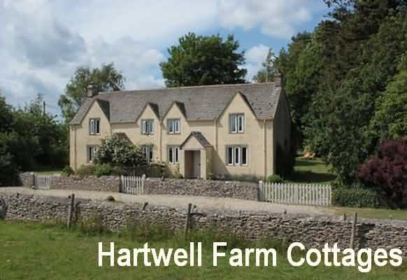 Exterior view of Hartwell Farm Cottages