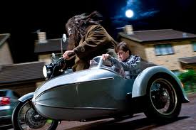Harry Potters Motorbike & Sidecar