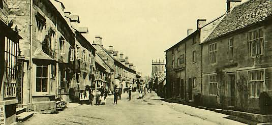 High Street Blockley