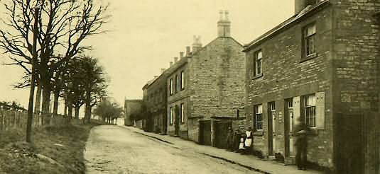 Park Road in Blockley
