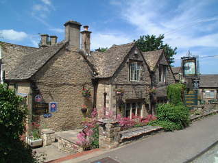 The Lamb Inn at Great Rissington near Bourton-on-the-Water