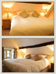 Bedrooms at The Plough Inn