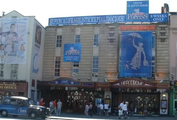 Hippodrome Theatre putting on a show