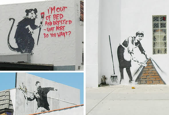 Street Graffiti by Banksy