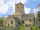 St Eadburgha's church - a nice walk from Broadway village