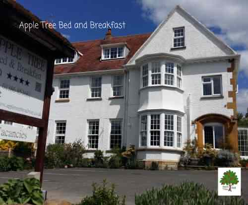 Exterior view of Apple Tree B&B