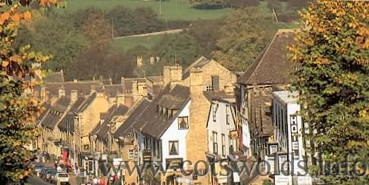 Cotswold Market town of Burford