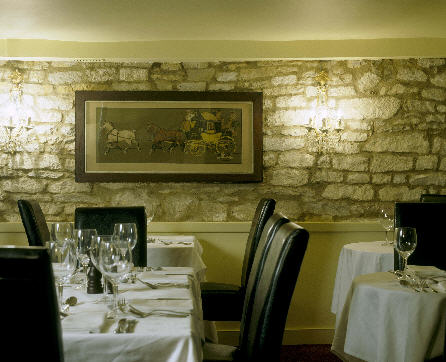 The Highway Hotel Restaurant at Burford Oxfordshire