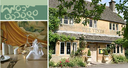 The Vines Hotel near Witney and Burford