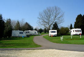Mayfield Park Caravan Site at Cirencester