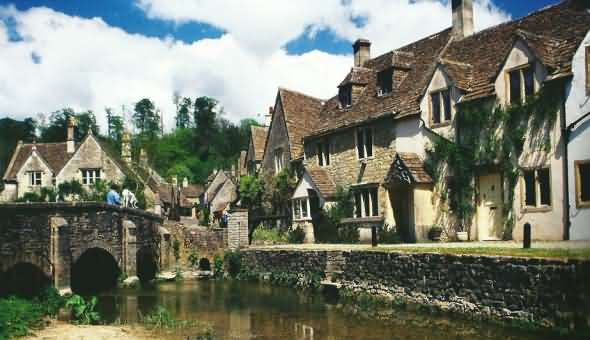 The Cotswold Village of Castle Combe