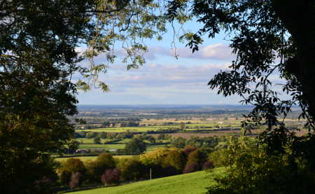 Views from Farncombe Estate over the Vale of Evesham
