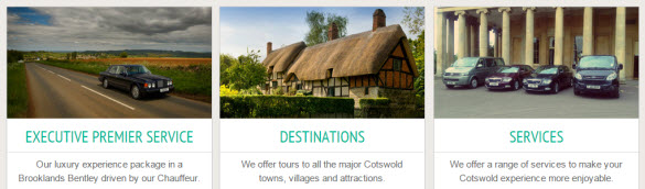 Cotswold Tours services