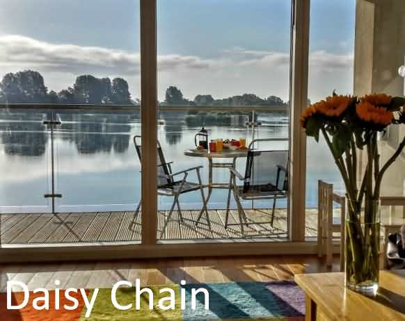 Daisy Chain at Lower Mill Cotswold Water Parks