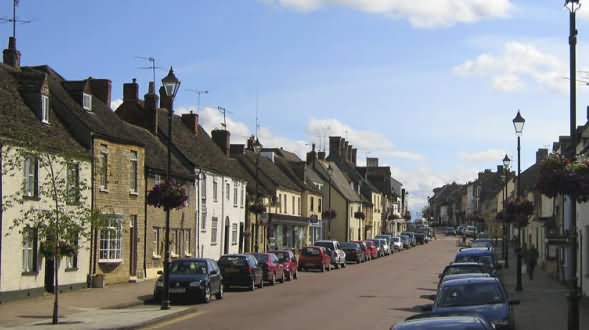 Cricklade in Wiltshire