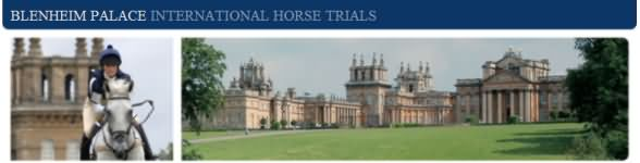 Blenheim Horse Trials