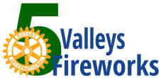 5 Valleys Fireworks