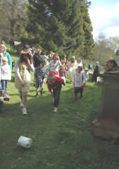 Cheese rolling at Randwick Wap