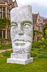 Sculpture Exhibition at Asthall Manor near Burford